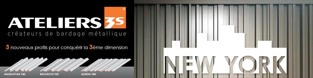 Ateliers 3S - Créateurs de bardage métallique
